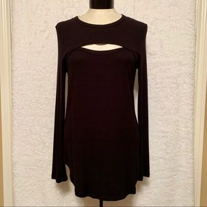 NWT Essentials Tunic Top
